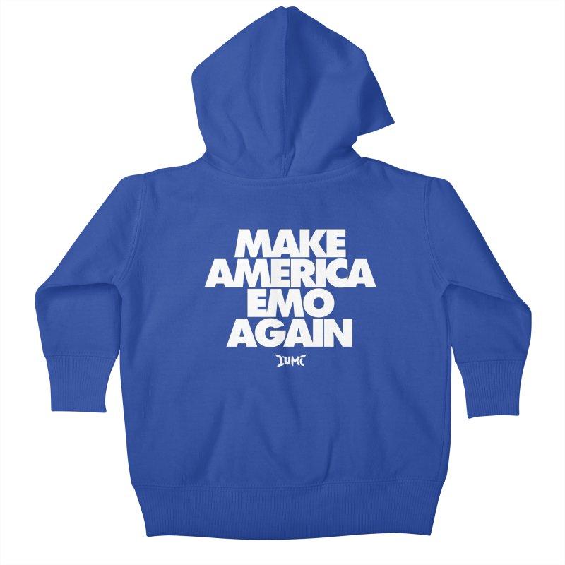 Make America Emo Again Kids Baby Zip-Up Hoody by Lumi
