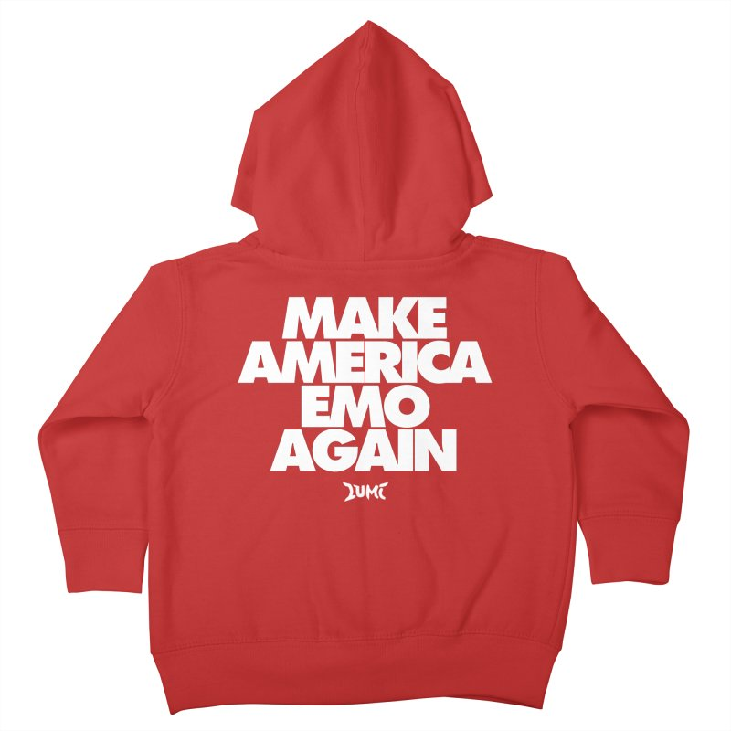 Make America Emo Again Kids Toddler Zip-Up Hoody by Lumi