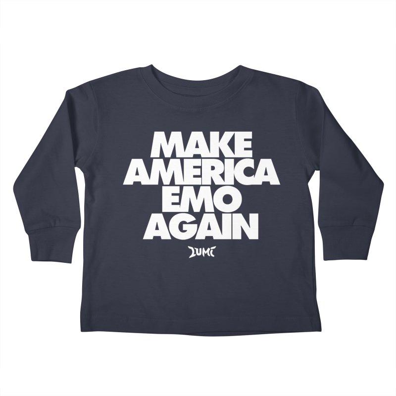 Make America Emo Again Kids Toddler Longsleeve T-Shirt by Lumi