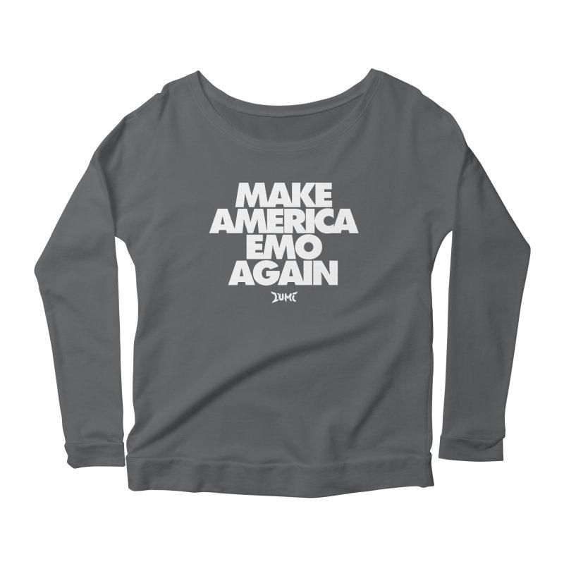 Make America Emo Again Women's Longsleeve T-Shirt by Lumi