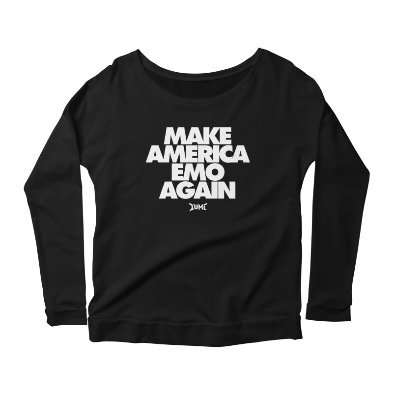 Make America Emo Again Women's Longsleeve Scoopneck  by Lumi