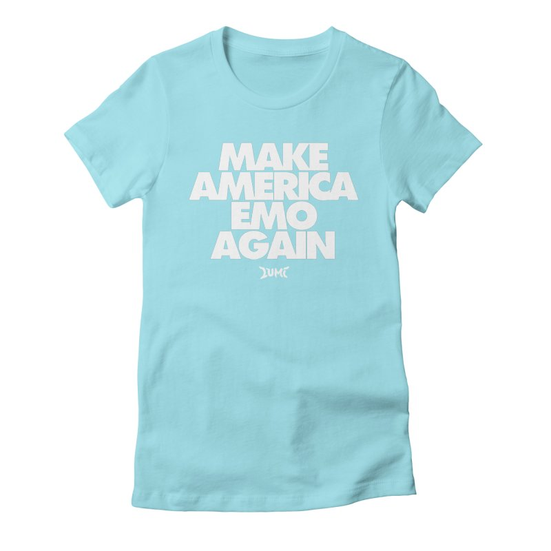 Make America Emo Again Women's Fitted T-Shirt by Lumi