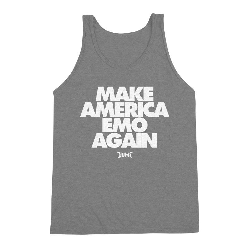 Make America Emo Again Men's Triblend Tank by Lumi