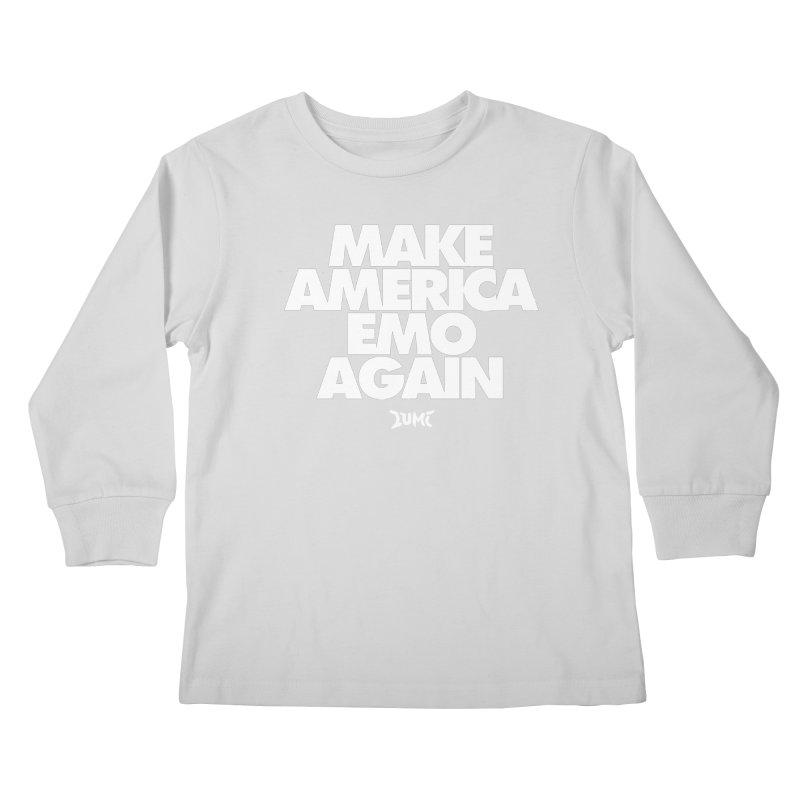 Make America Emo Again Kids Longsleeve T-Shirt by Lumi