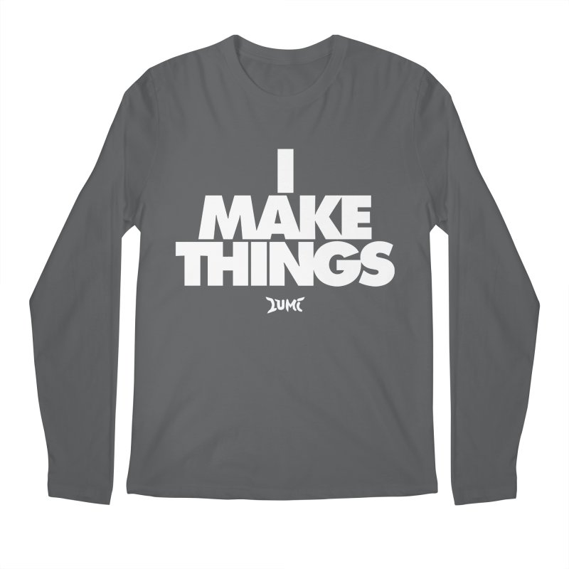 I Make Things Men's Longsleeve T-Shirt by Lumi