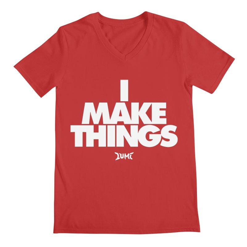 I Make Things Men's V-Neck by Lumi