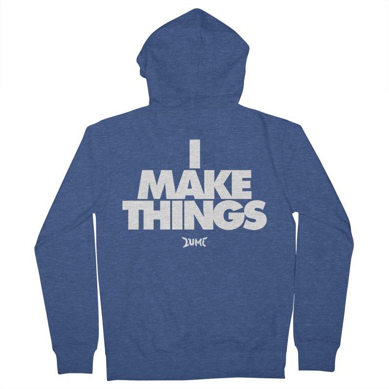 I Make Things Men's Zip-Up Hoody by Lumi