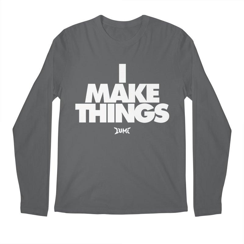 I Make Things Men's Regular Longsleeve T-Shirt by Lumi