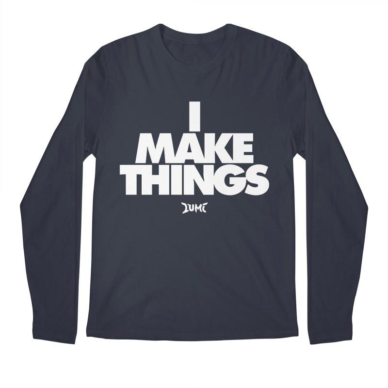 I Make Things Men's Longsleeve T-Shirt by Lumi