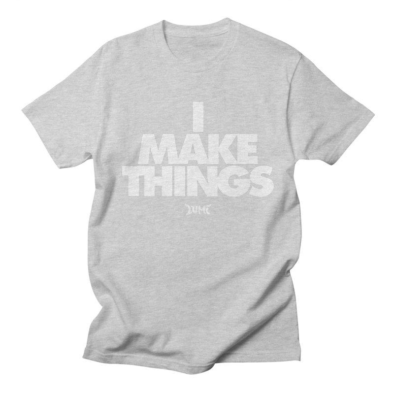I Make Things Men's Regular T-Shirt by Lumi