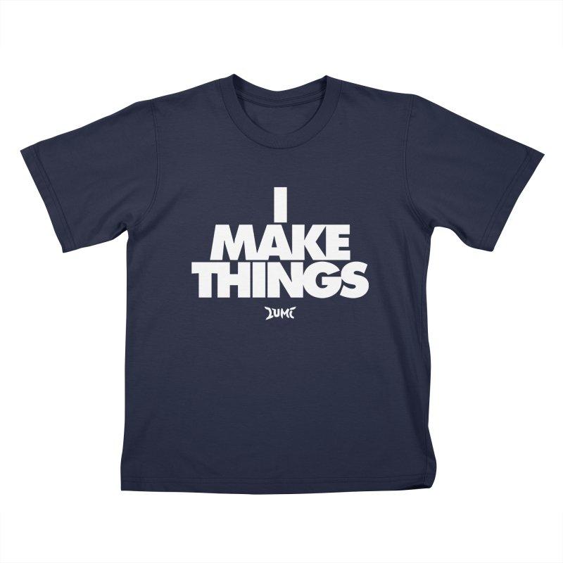 I Make Things Kids T-Shirt by Lumi