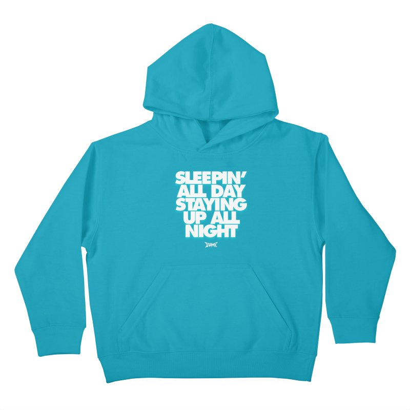 Ocean Avenue Lyrics Kids Pullover Hoody by Lumi
