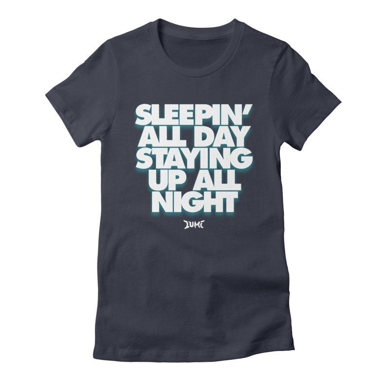 Ocean Avenue Lyrics Women's Fitted T-Shirt by Lumi