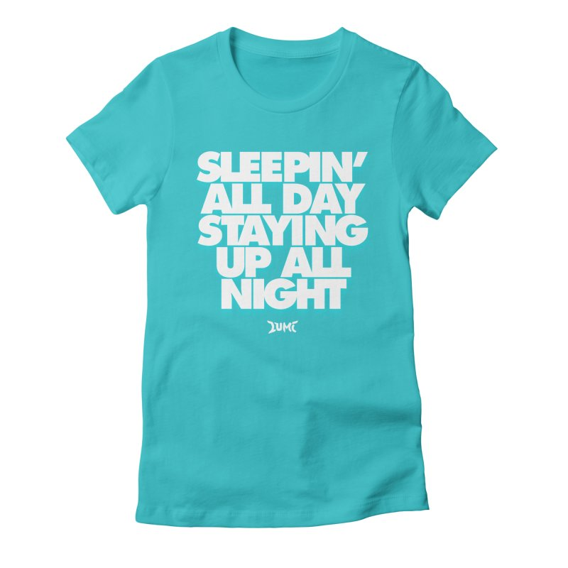 Ocean Avenue Lyrics Women's Fitted T-Shirt by Lumi