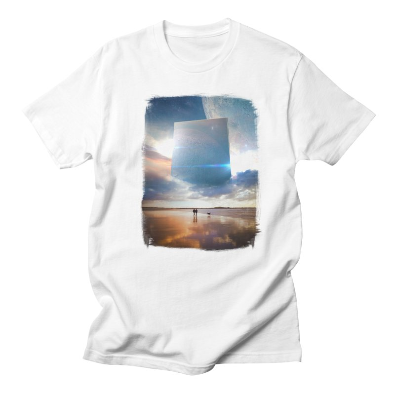 Obelisk in Men's Regular T-Shirt White by Lumi
