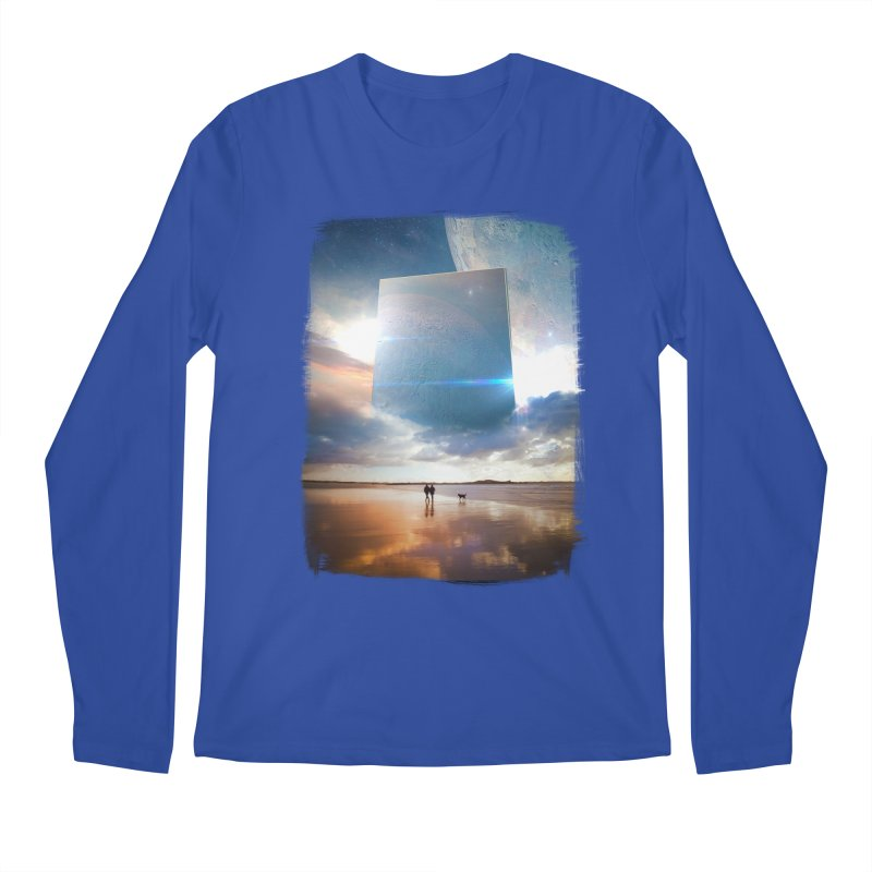 Obelisk Men's Longsleeve T-Shirt by Lumi