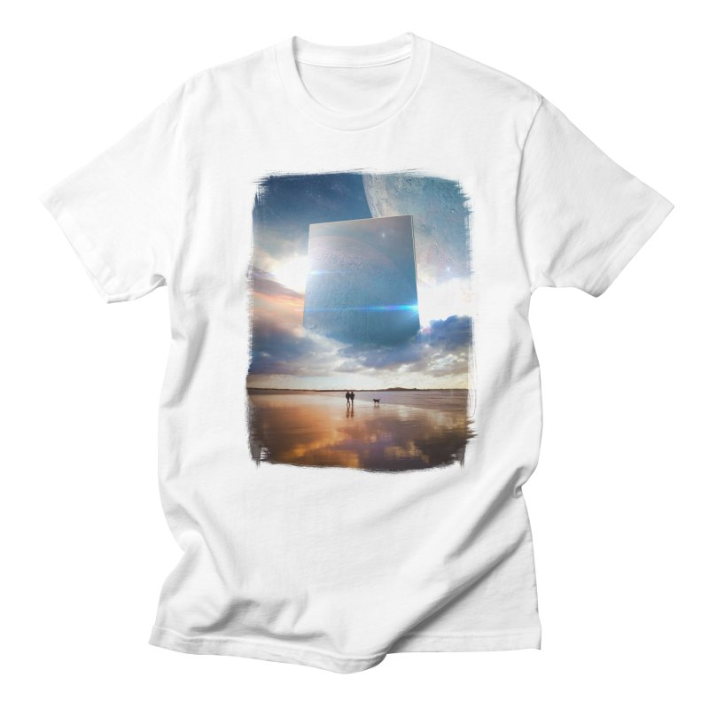Obelisk in Men's T-Shirt White by Lumi