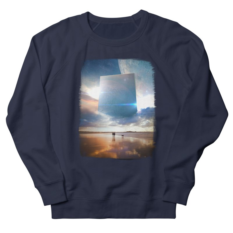 Obelisk Men's French Terry Sweatshirt by Lumi