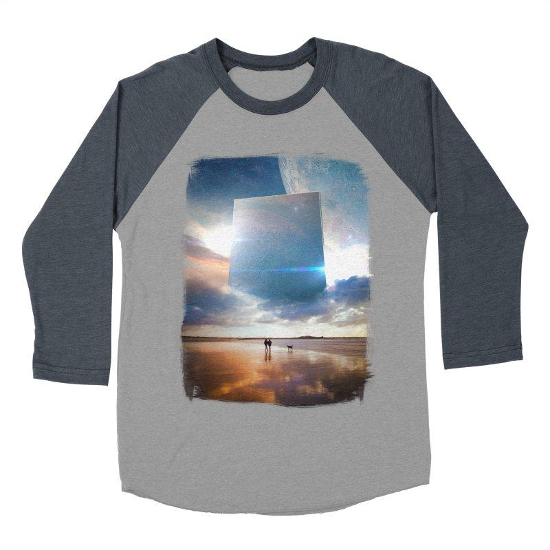 Obelisk Women's Baseball Triblend Longsleeve T-Shirt by Lumi