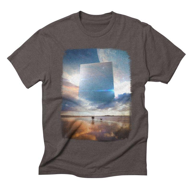 Obelisk Men's Triblend T-shirt by Lumi