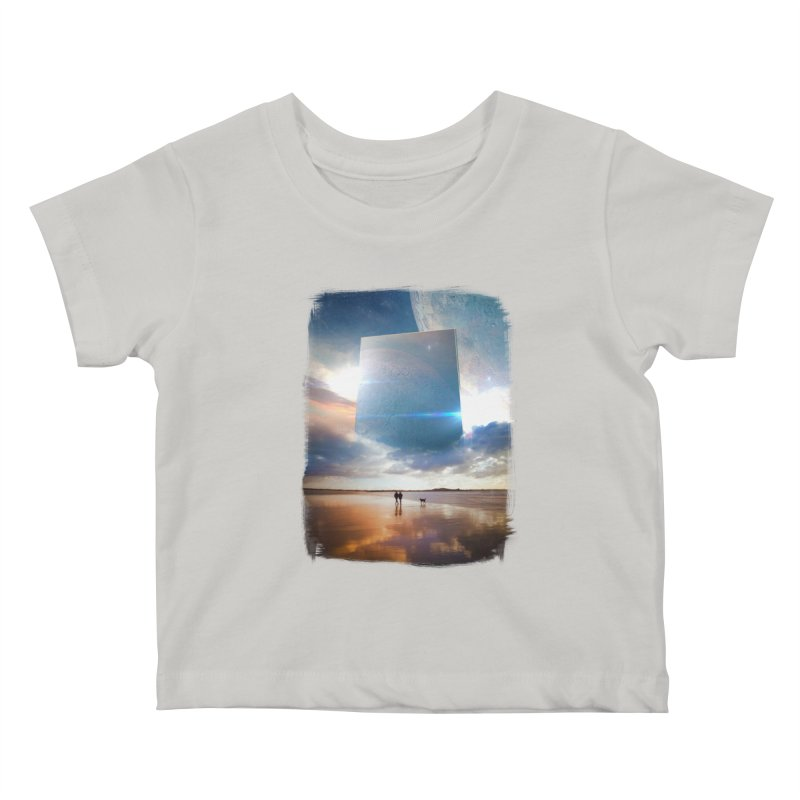 Obelisk Kids Baby T-Shirt by Lumi