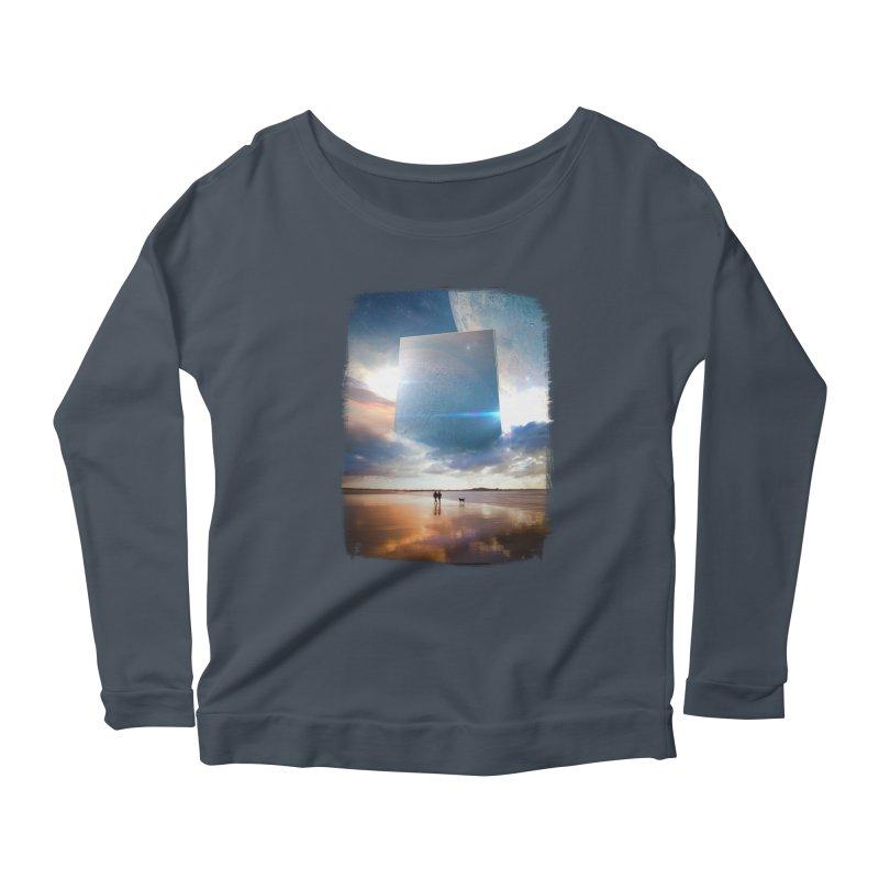 Obelisk Women's Scoop Neck Longsleeve T-Shirt by Lumi