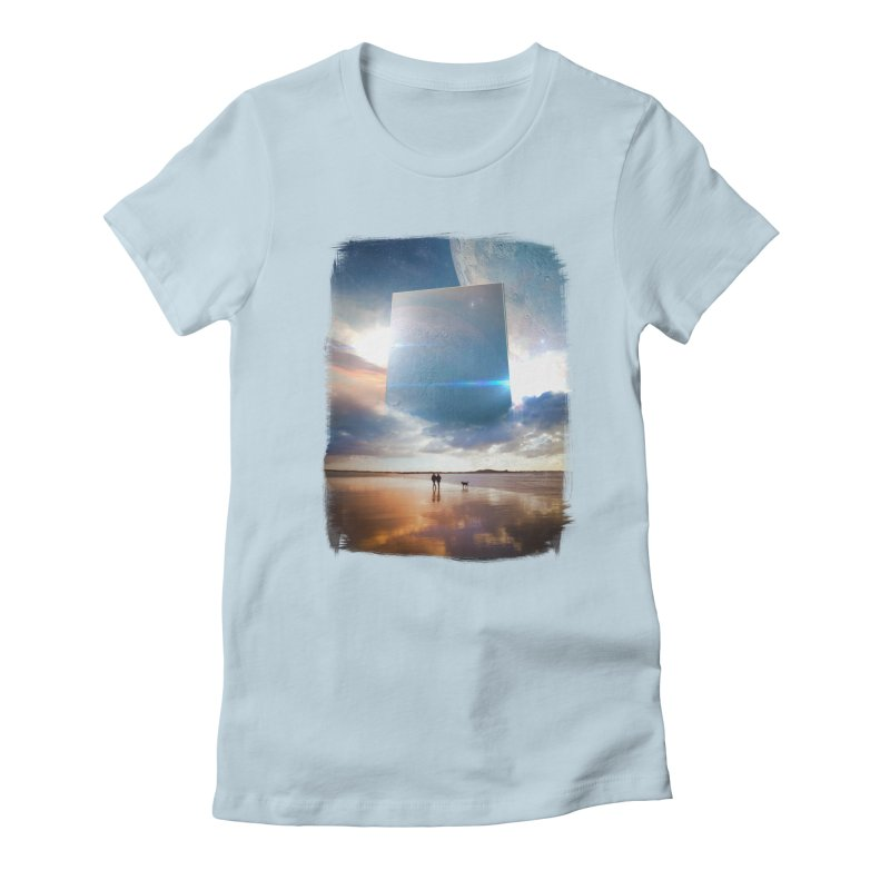 Obelisk Women's Fitted T-Shirt by Lumi