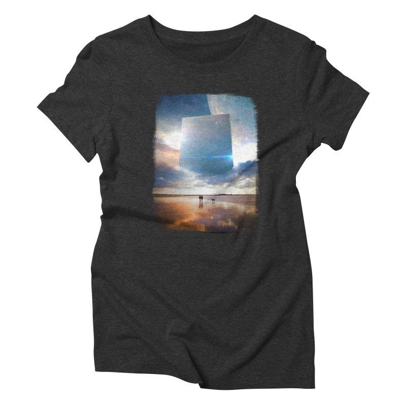 Obelisk Women's Triblend T-Shirt by Lumi