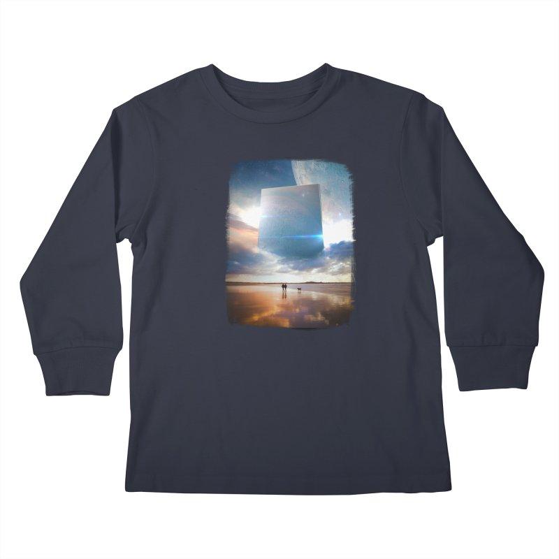 Obelisk Kids Longsleeve T-Shirt by Lumi