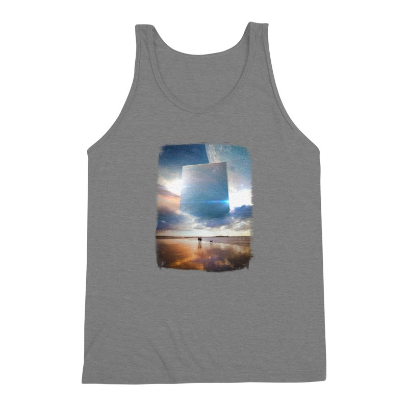 Obelisk Men's Triblend Tank by Lumi