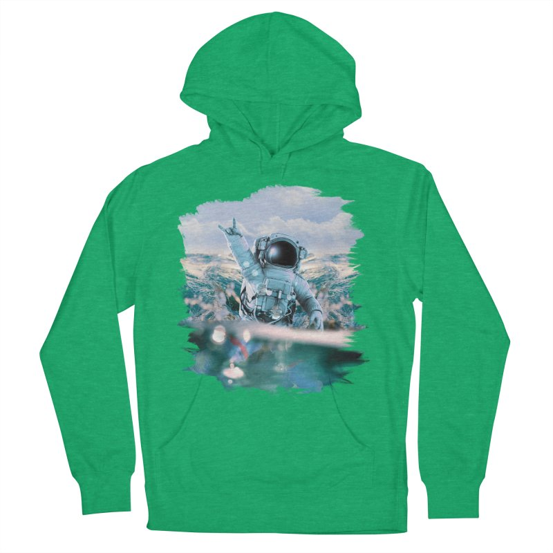 Astronautical Men's Pullover Hoody by Lumi