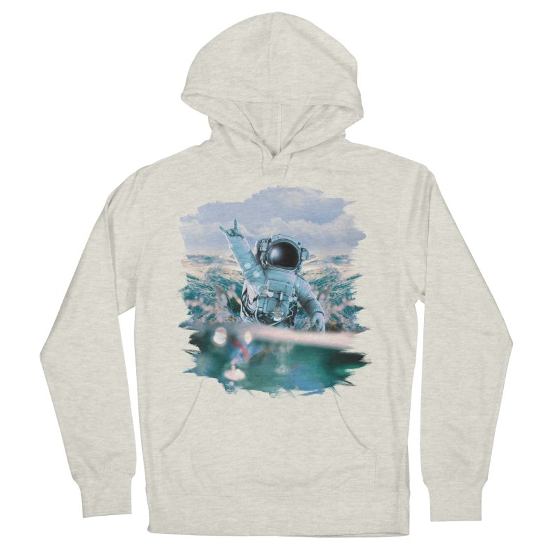 Astronautical Men's French Terry Pullover Hoody by Lumi