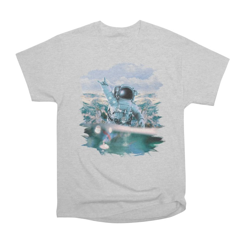 Astronautical Women's Heavyweight Unisex T-Shirt by Lumi