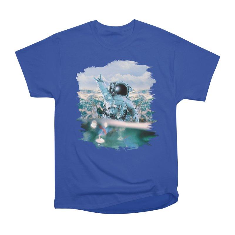 Astronautical Men's Classic T-Shirt by Lumi