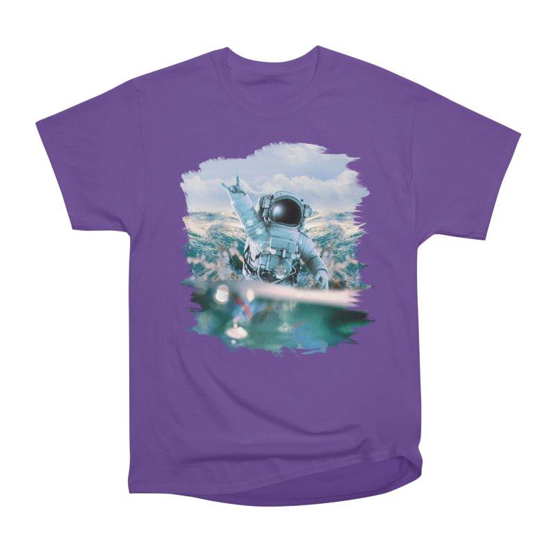 Astronautical Men's Heavyweight T-Shirt by Lumi