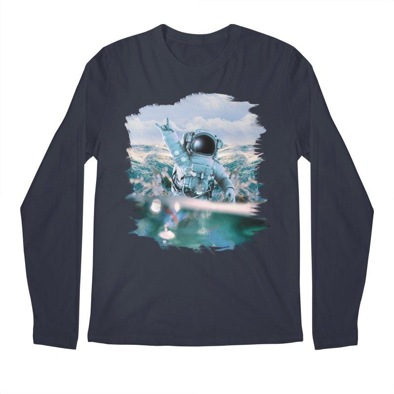 Astronautical Men's Longsleeve T-Shirt by Lumi