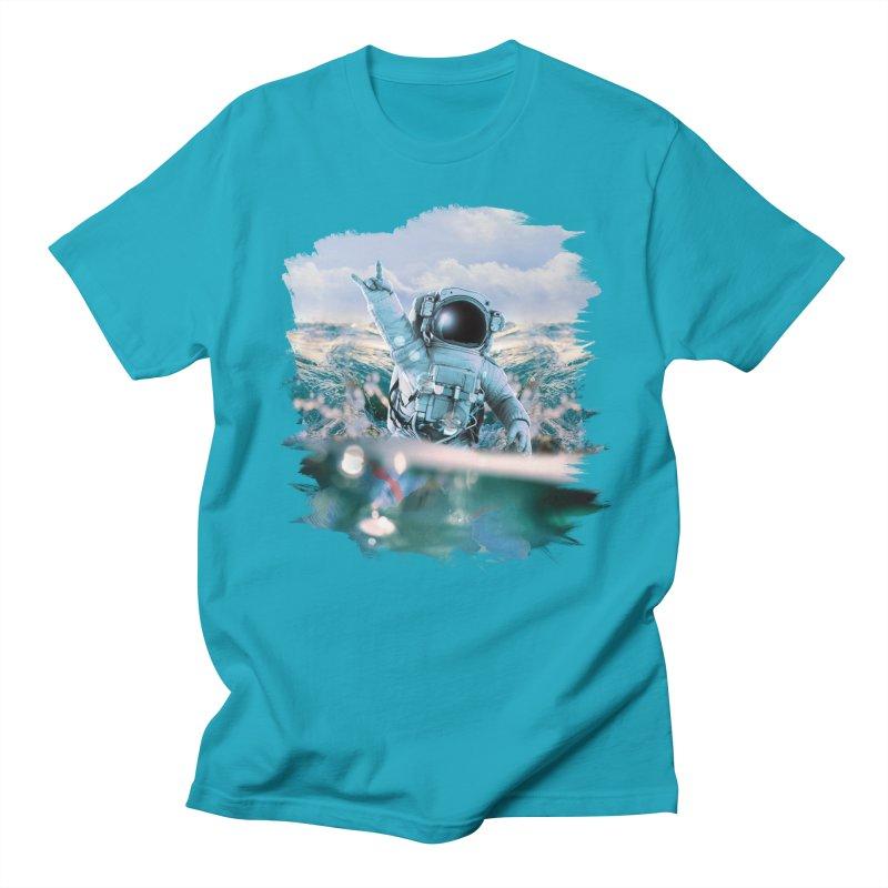 Astronautical Men's Regular T-Shirt by Lumi