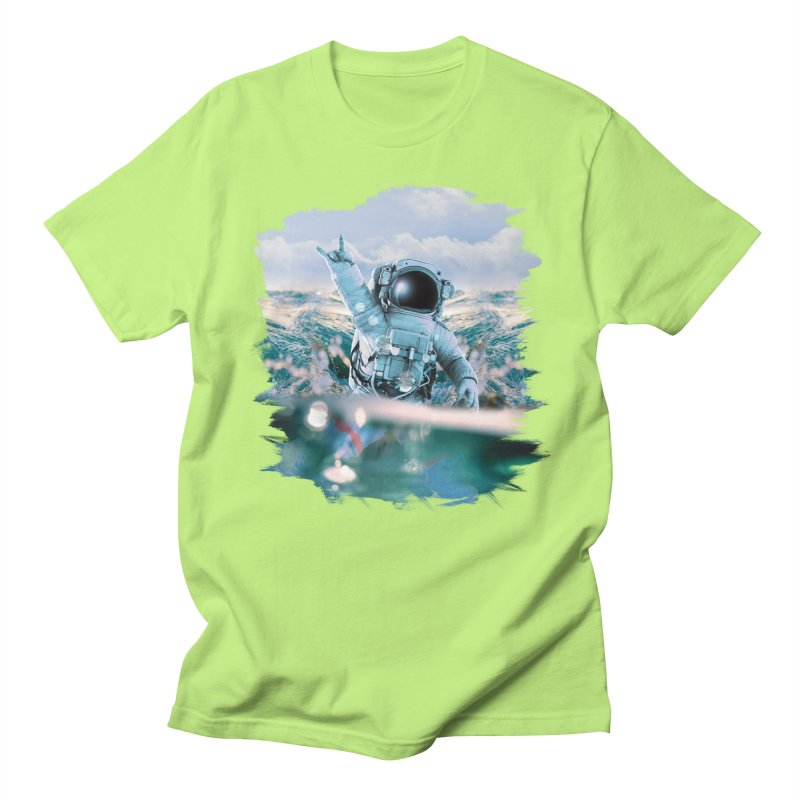 Astronautical Women's Regular Unisex T-Shirt by Lumi