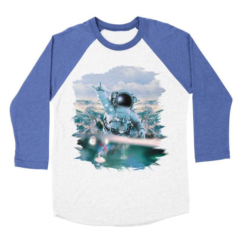 Astronautical Women's Baseball Triblend T-Shirt by Lumi