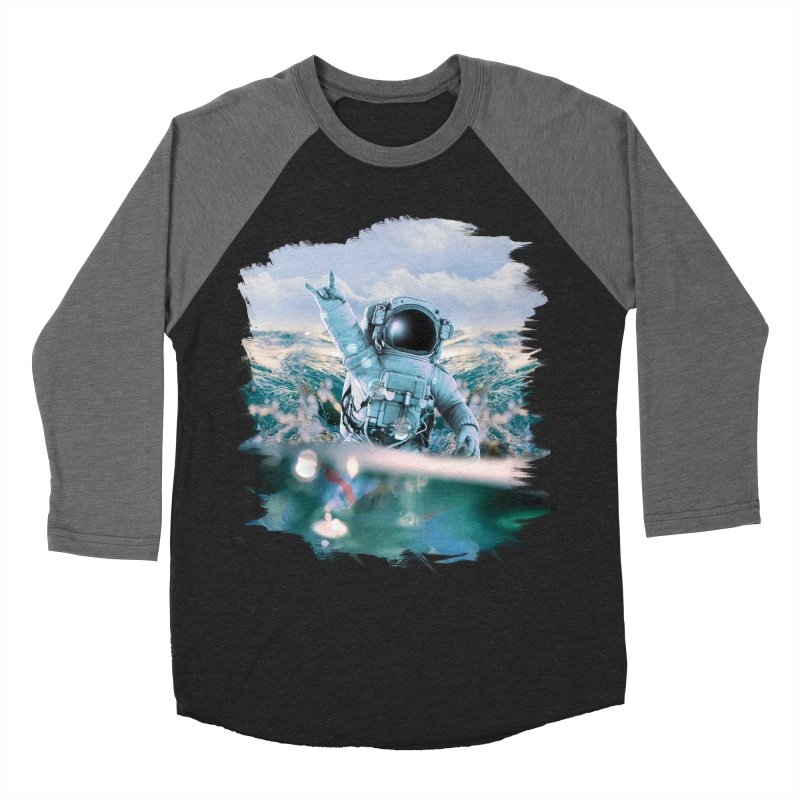 Astronautical Men's Baseball Triblend T-Shirt by Lumi