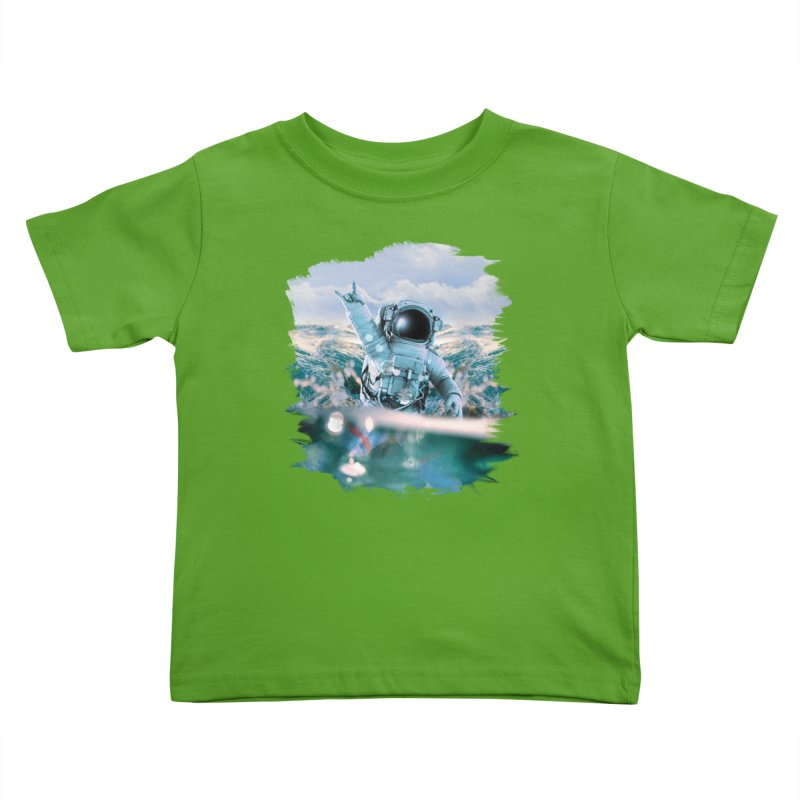 Astronautical Kids Toddler T-Shirt by Lumi