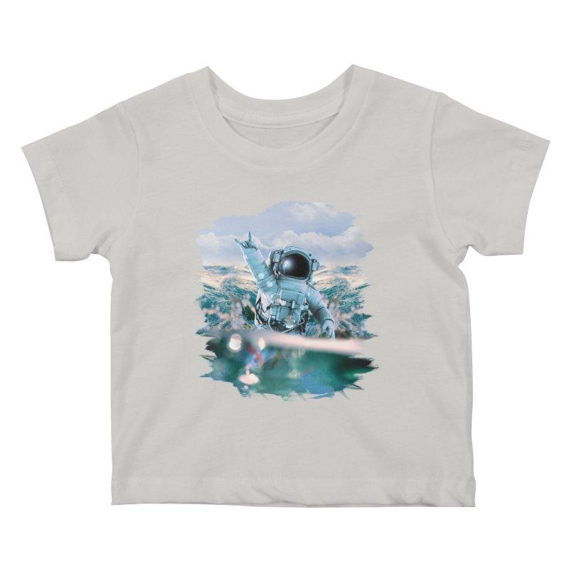 Astronautical Kids Baby T-Shirt by Lumi