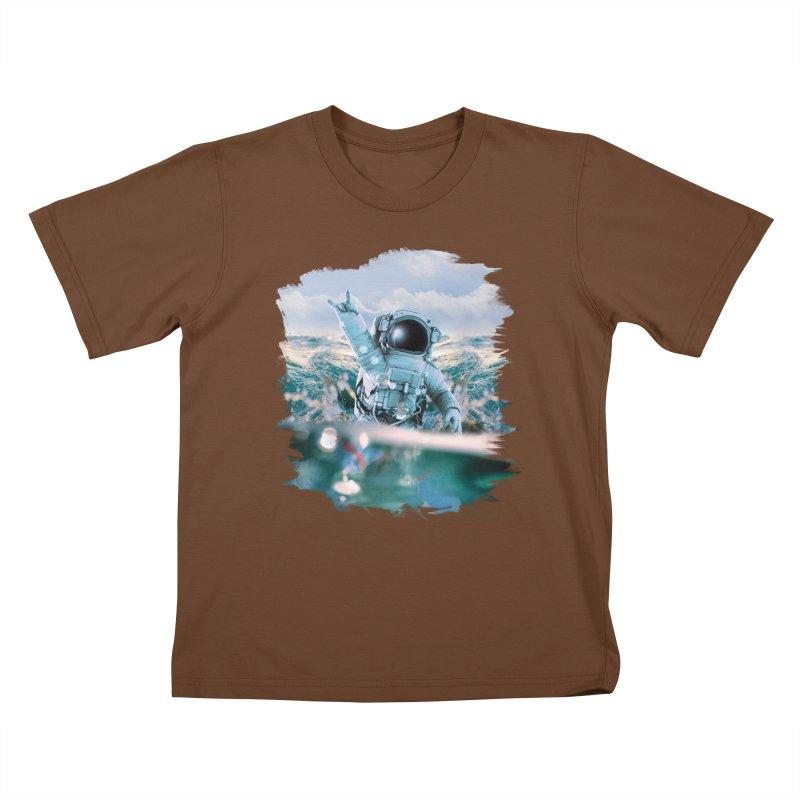 Astronautical Kids T-Shirt by Lumi