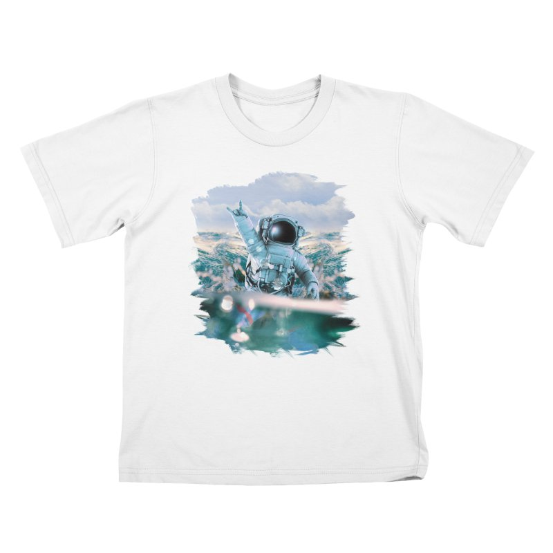 Astronautical Kids T-Shirt by Lumi