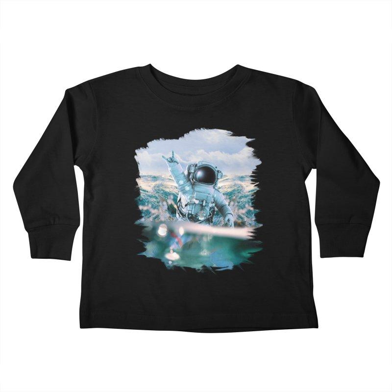 Astronautical Kids Toddler Longsleeve T-Shirt by Lumi