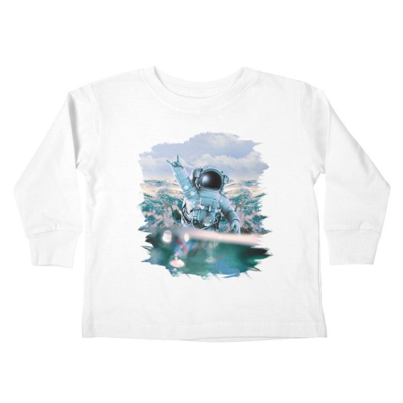Astronautical Kids Toddler Longsleeve T-Shirt by Lumi