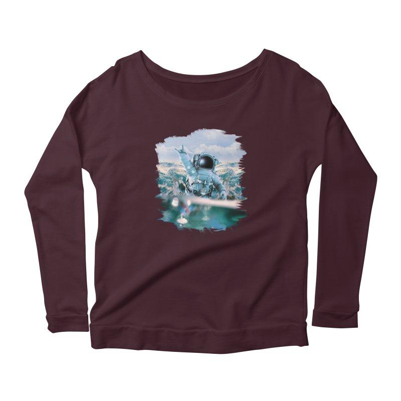 Astronautical Women's Longsleeve T-Shirt by Lumi