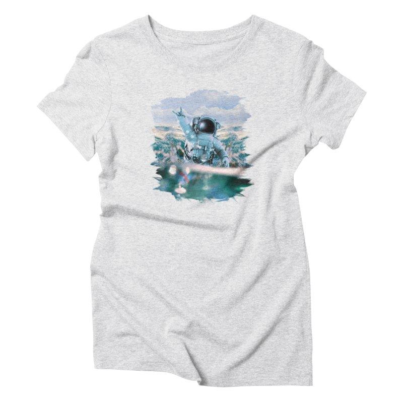 Astronautical Women's T-Shirt by Lumi