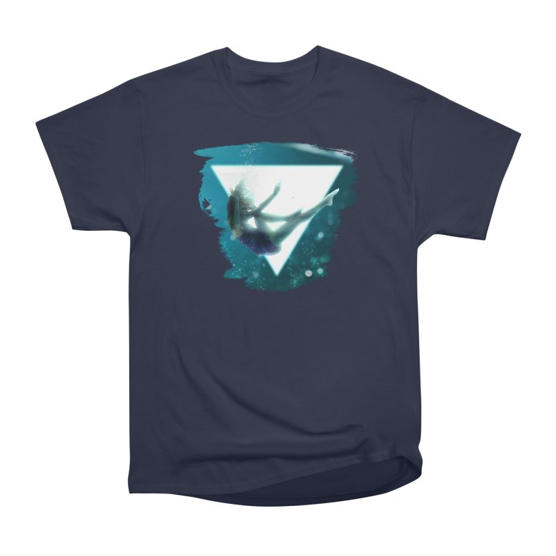 Falling Under Men's Heavyweight T-Shirt by Lumi