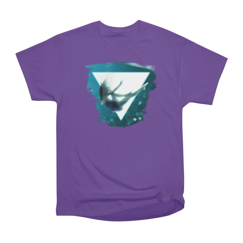 Falling Under Women's Classic Unisex T-Shirt by Lumi